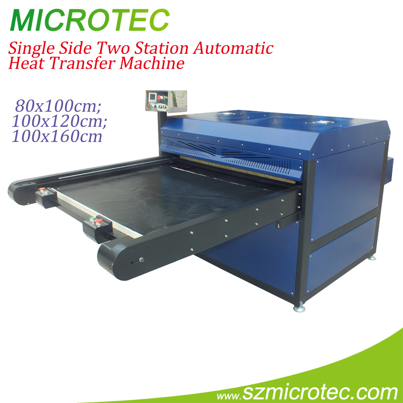 Microtec large press tshirt iron-on transfer machine factory wholesale
