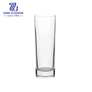 Clear HighBall Polygon Glass Tumbler for Water and Juice
