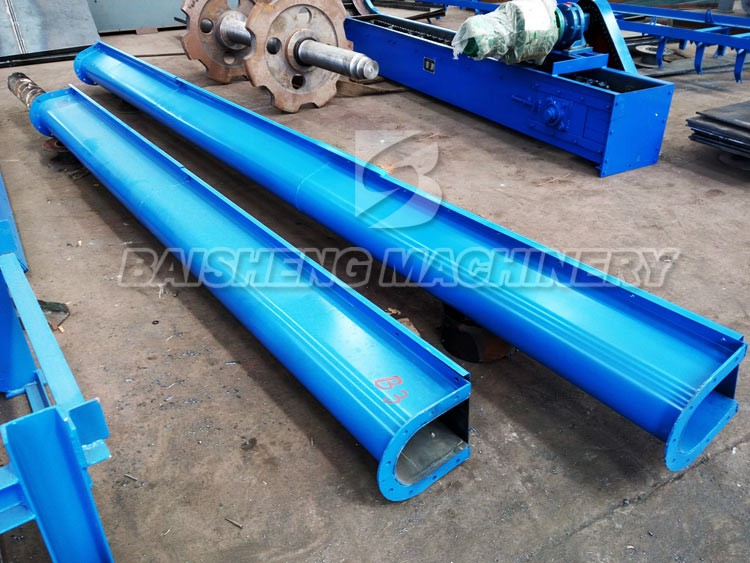 gravel auger conveyor/industrial sand auger conveyor/screw inclined conveyor
