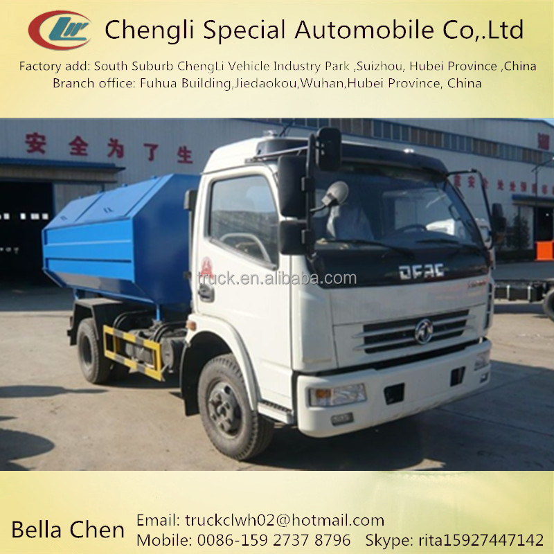 RIGHT hand drive garbage truck, 4 ton arm-roller garbage truck