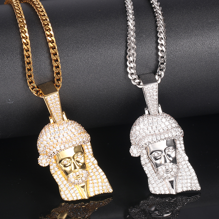 Wholesale Rap Bling Jewelry 18k 14k Gold Diamond 925 Hip Hop Jewelry Fine Manufacturer