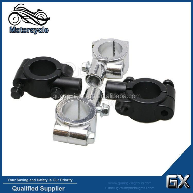 1X 10MM Motorcycle Bike Handlebar Rear View Mirror Mount Holder Clamp Selling GX