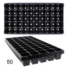 32,50,72,105,128,200,288 cells Plastic Grow Seedlings Sprout Hydroponic Tray With Holes