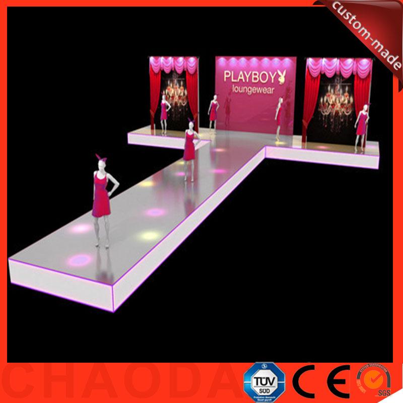 7 32x14 64 m portabel aluminium dekorasi panggung fashion