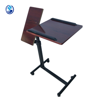 Portable Metal Folding Overbed Table With Drawer   Buy Laptop Table Bed  Computer Desk,Laptop Computer Lap Desk,Wooden Laptop Desk Product On  Alibaba.com
