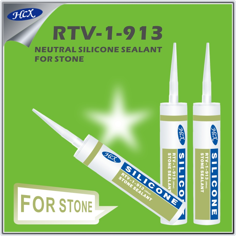 RTV-1-913 RTV silicone sealant neutral type for concrete silicone sealant general purpose silicone adhesive sealant for stone