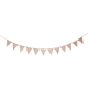 12Pieces/set Lace Pennant Party Banner Triangular Flags Banner Romantic Wedding Hanging