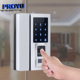 NEW Arrival Frameless glass door magnetic electric fingerprint glass door floor lock for home office