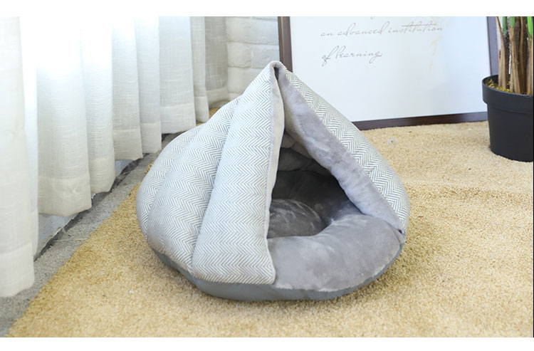 Tianyuan Huisdier Puppy Cave Hond Bed Groothandel, Hond Cave Bed