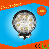 Big Sale! High quality Super bright automotive 12V 27w 24w led offroad work light for track, boat, offroad