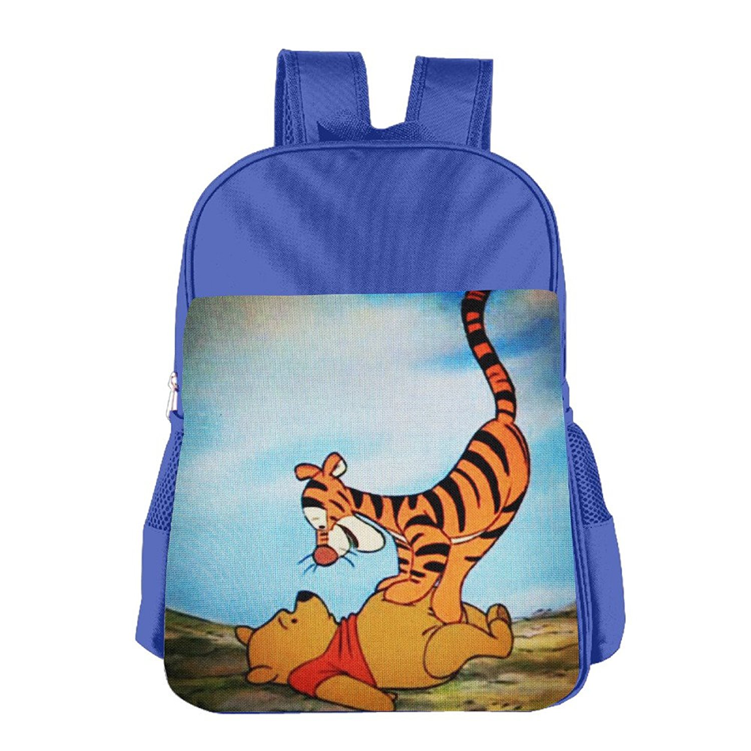 3fb943d6017 The Many Adventures Of Winnie The Pooh Children School Bag RoyalBlue