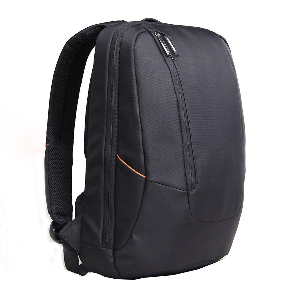 Laptop Backpack,KINGSONS 15.6 Inch Water Resistant Rucksack Outside Travel Daypack Anti Theft Knapsack Laptop tablet Backpack for Acer / Asus / Dell / Fujitsu / Lenovo / HP / Samsung / Toshiba - Black