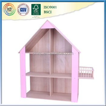 Wooden Doll House Of Barbie Doll Playhouse Toys Buy Doll House