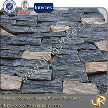 Decorative natural quartzite brick interior walls