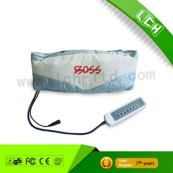 LCH-10074 Sauna Belt Weight Loss Band Abdominal Muscle Toner Slimming massager Stomach Wrap Belly