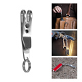 New EA14 EDC Bag Suspension Clip with Key Ring Carabiner Outdoor Quicklink Tool