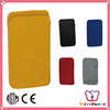 GSV certification cheap wholesale handmade mobile phone felt bag