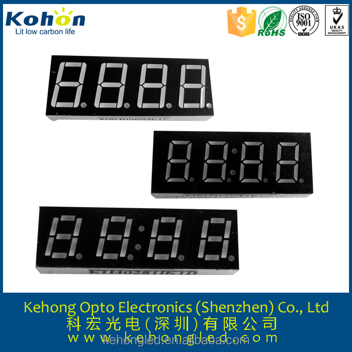 full color 4 digits led numeric display/countdown timer/price tag