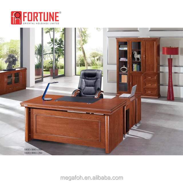 American High End 5 Feet Home Office Furniture Set With Book Shelf