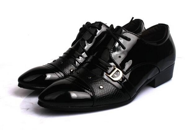 Get Quotations · NEW HOT SALE Men s Unique belt buckle Patchwork leather  shoes wedding shoes Business Shoes S19 67b44bd54104