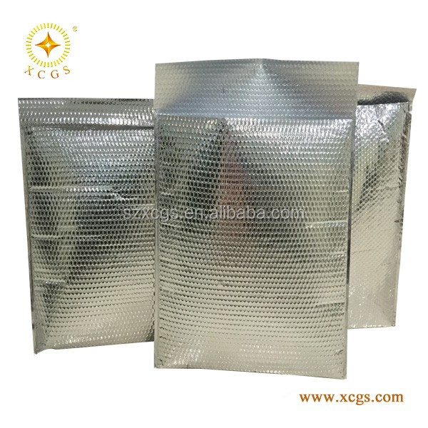 Thermal Break Bubble Mailers Food Cool Shield Bubble Bag