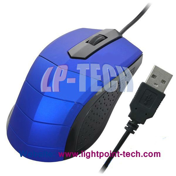 2012 newly professional laser wired mouse for computer