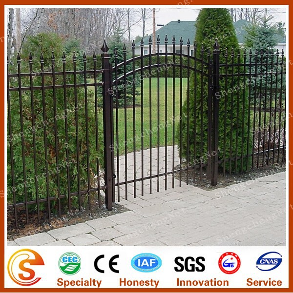Security Entrance Forged Wrought Iron Gate Design Outdoor Gates