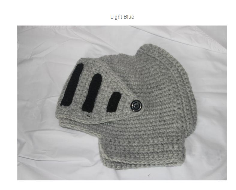 dbfcd61fddd88 2016 Novelty New Roman Knight Helmet Caps Cool Handmade Knit Ski Warm  Winter Hats Men Women s Gift Funny Party Ski Mask Beanies