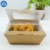 Biodegradable Fast Food Take Away Packing Box with Clear Window