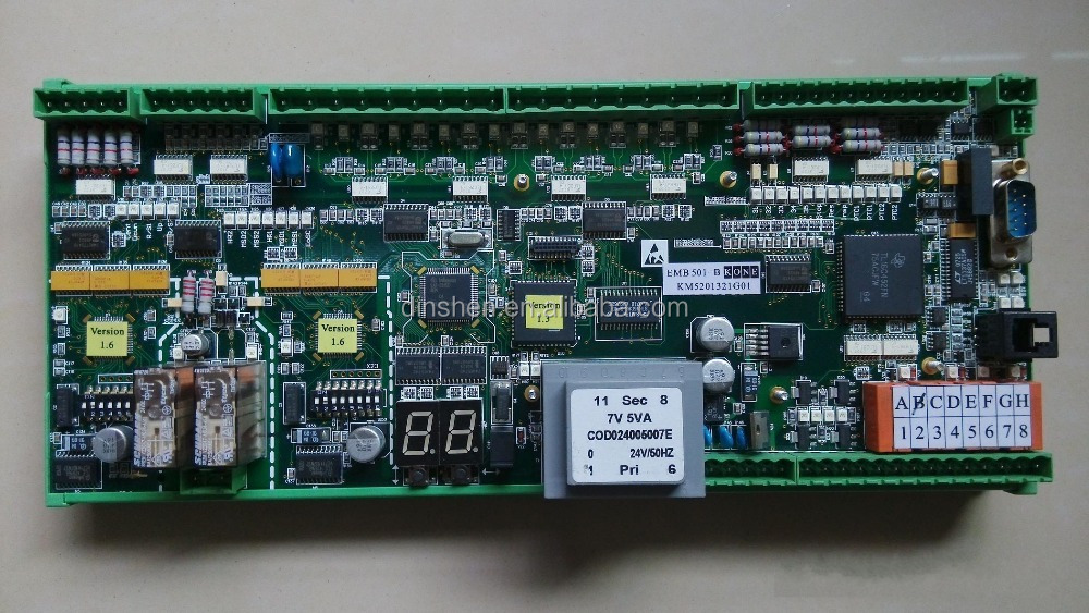 Kone ECO escalator mainboard EMB 501-B KM5201321G01