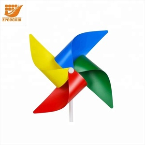Promotion Logo Custom Cheap Plastic Windmills