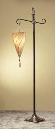 Floor Lamp Shade Indoor Tiffany Mainstays Lantern Home Decor Reading Lamp Bedroom Living Room Contemporary Decorative