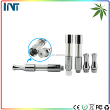 Alibaba china rechargerable 510 vape pen cartridge glass cbd atomizer cbd crystal liquid thc e cigarette tank vape pen