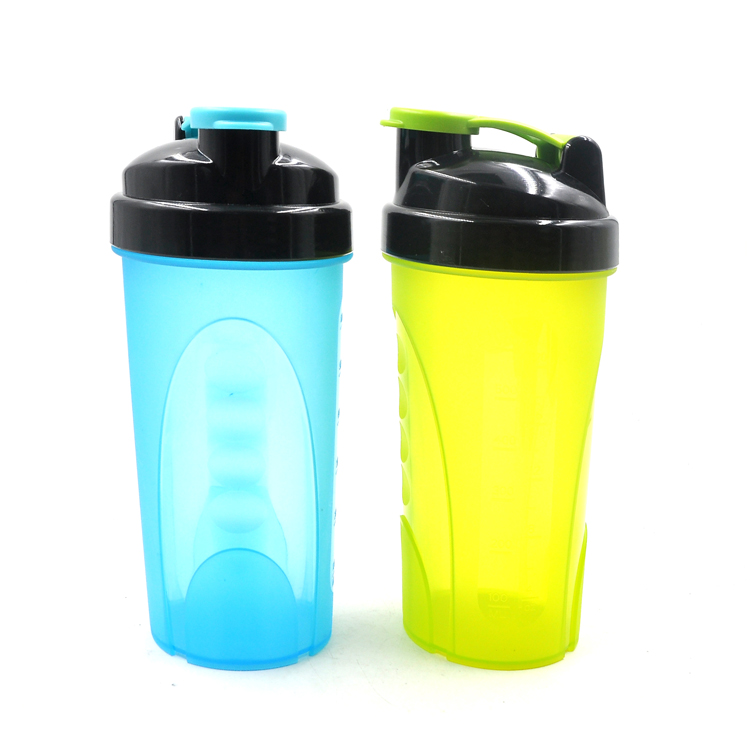 new products for market Plastic Material shaker cup with shaker ball