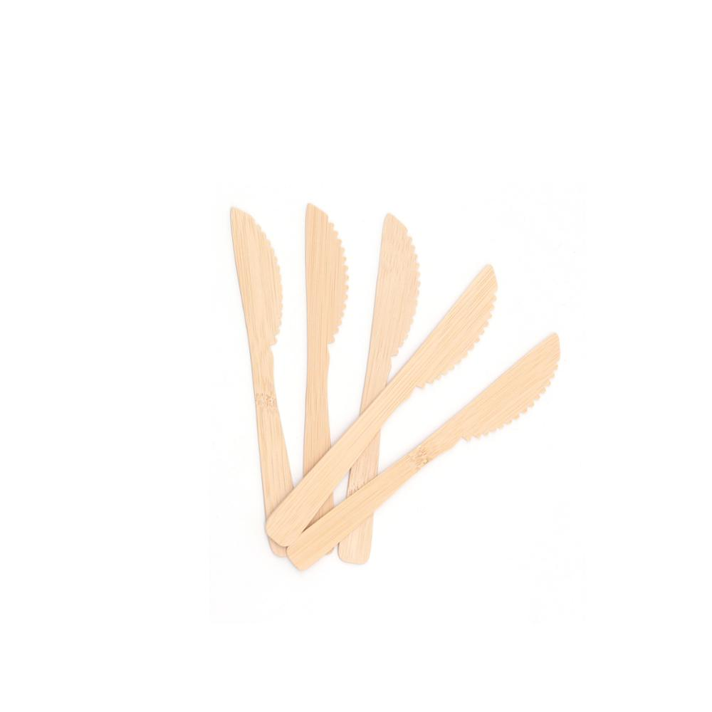 Cheap biodegradable spoon fork cutlery set bamboo disposable fork