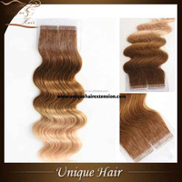 Wholesale virgin cambodian hair express,Hot sale tape hair extensions,brazilian human hair extensions