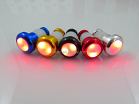 Outdoor Multi-color waterproof bicycle warning light led bike handle bar light