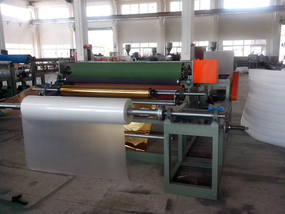FLY-1400 EPE Foam Sheet Coating Line/EPE Foam Sheet Extrusion Coating Machine