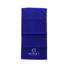 Cotton Terry Hand gym Towel Custom embroidery logo Wash Cloth Certified By OEKO-TEX