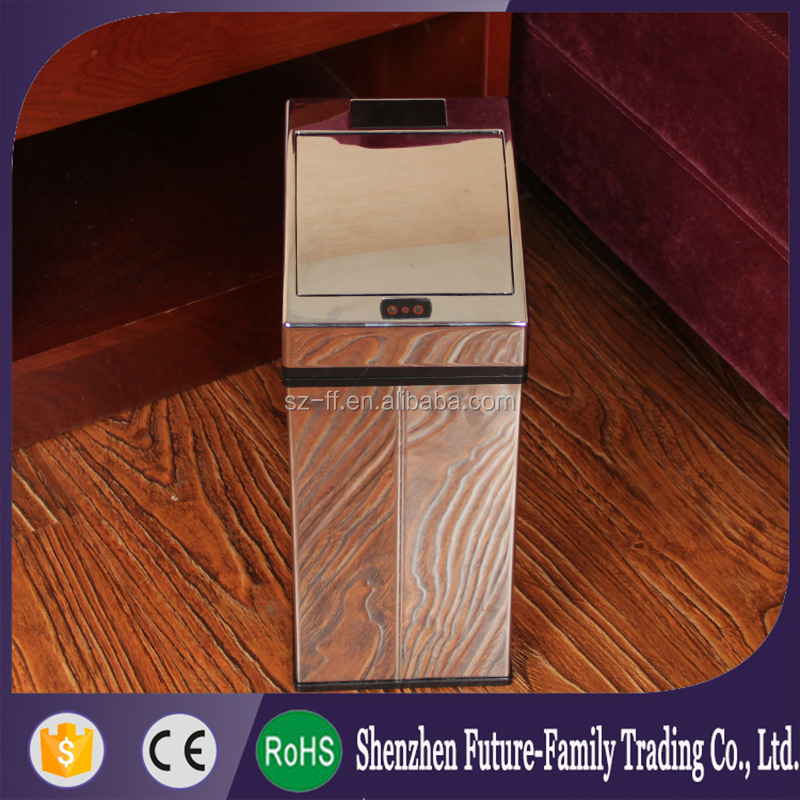 2016 Touchless Infrared Stainless Steel Smart Bins Litter Bins ...
