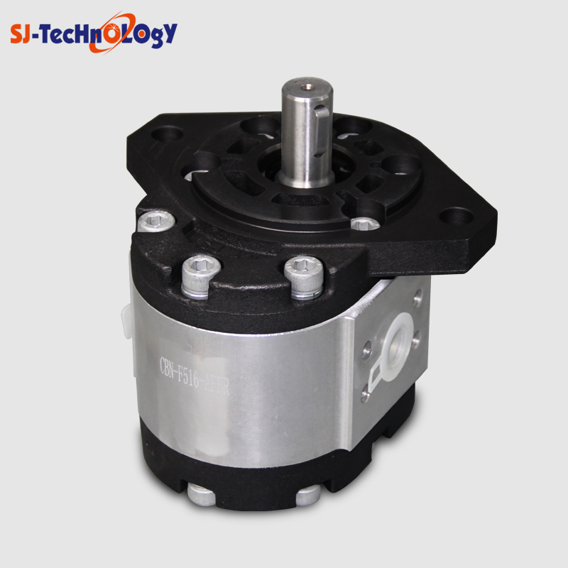 SJYY 16cc displacement piston pump structure hydraulic gear pump