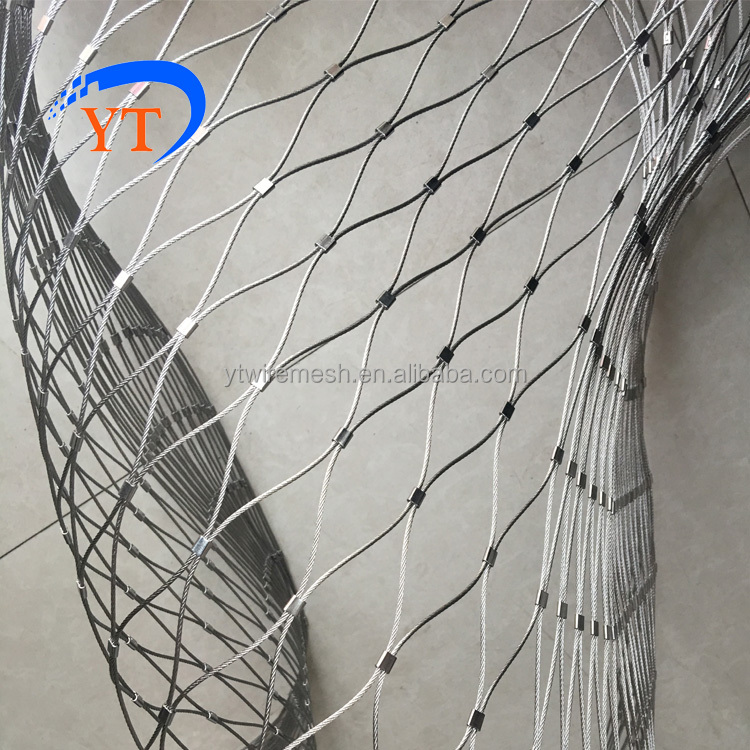 Yuntong Focus On Stainless Steel Cable <strong>Mesh</strong> For Staircase