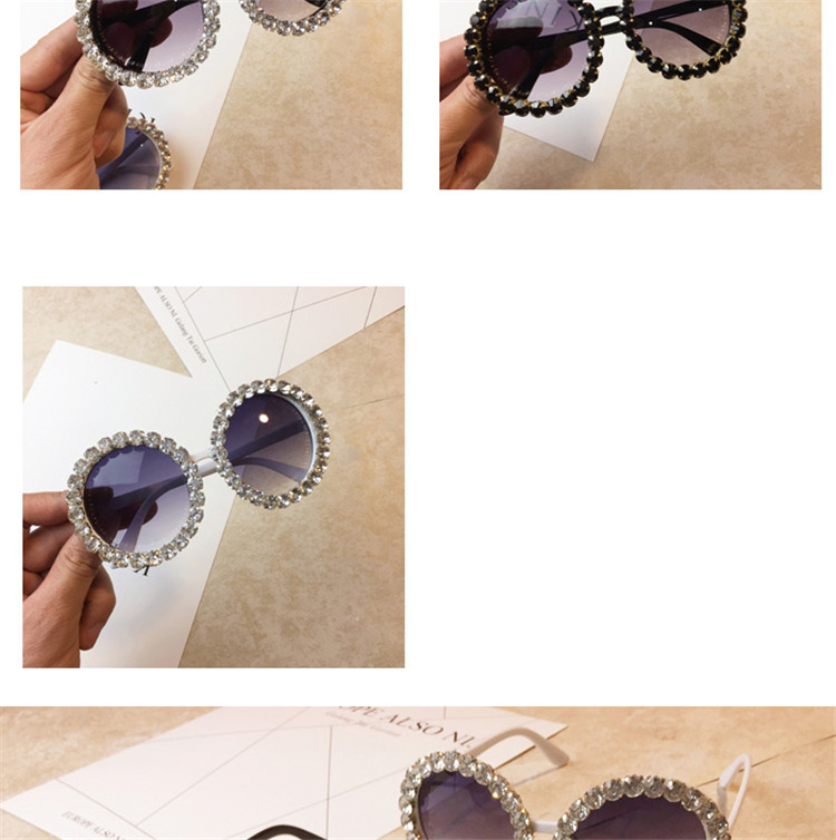 Wholesale rhinestone luxury designer sunglasses with bling