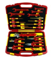 VDE AC 1000V 20 Pcs Insulated Hardware Screwdriver/Wrench/Socket Tool Set