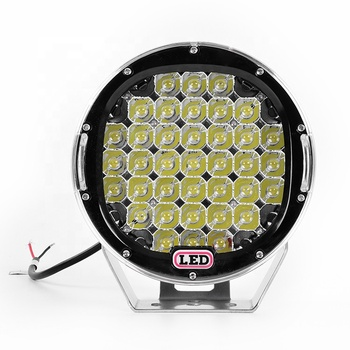 185w 96w led driving light round cree auto lighting system 7inch 9inch led driving light for jeep/offroad/truck