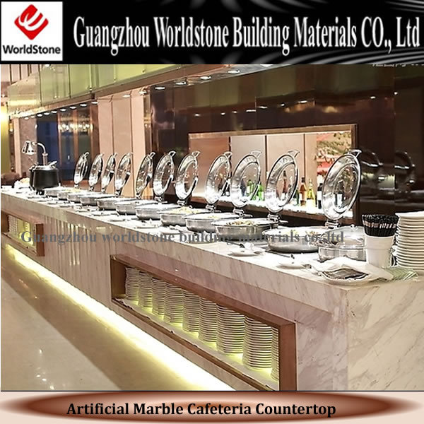 Artificial Marble Sushi Bar Display Counter Acrylic Buffet Counter - Buy  Acrylic Buffet Counter,Sushi Bar Counter,Food Display Counter Product on