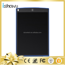 "Color Boogie Board Rewrite Pen 12"" LCD Writing & Drawing Tablets with Replaceable Battery + Custom Logo/ Package Available"
