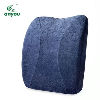 Multifunctional car seat office chair lumbar cushion rest back support pillow