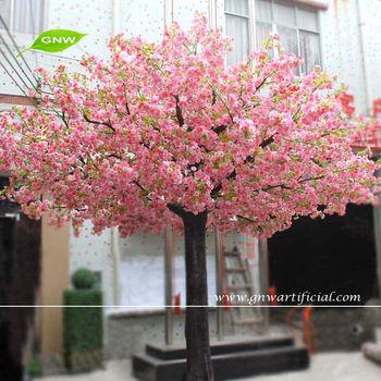 BLS018 GNW 9ft Plastic Sakura Tree Wedding Blossom Artificial For Home Decoration Trees