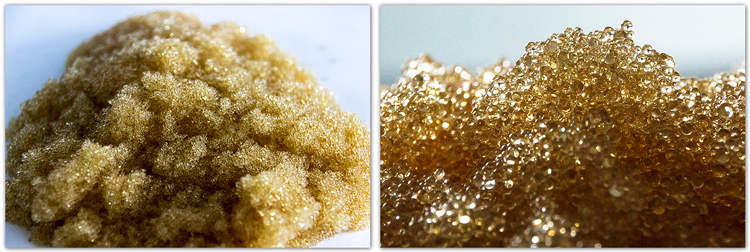 Tc007b Black Beads Strong Acid Cation Ion Exchange Resin
